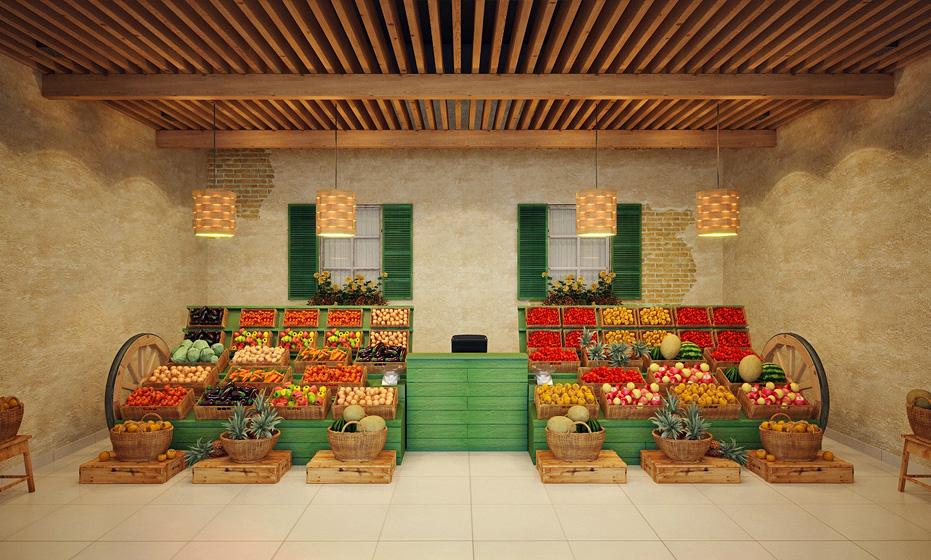 Дизайн фруктовых магазинов фото