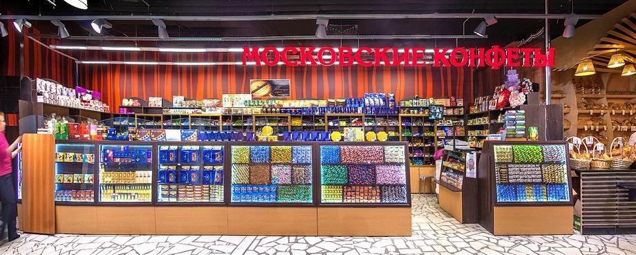 Дизайн кондитерских магазинов
